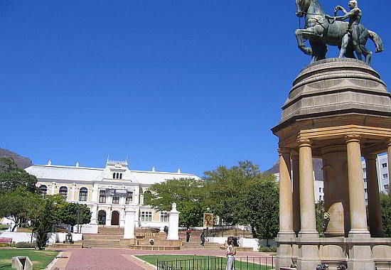 South African Museum and Planetarium, in the Company Gardens