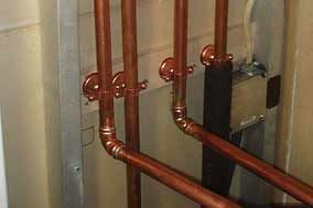 Copper Pipe Joint