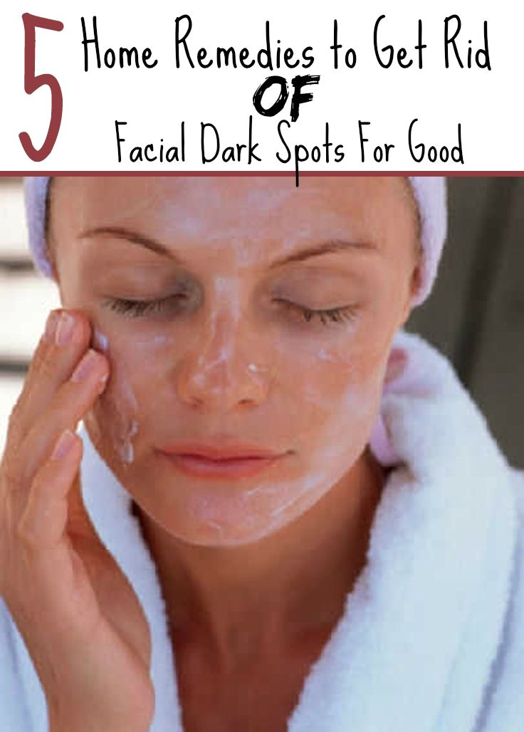 Women's Mag Blog: 5 Home Remedies to Get Rid Of Facial Dark Spots For Good