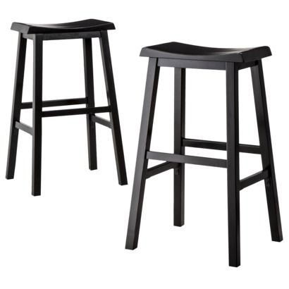 Threshold™ Trenton Saddle Bar Stool $71.99 Espresso