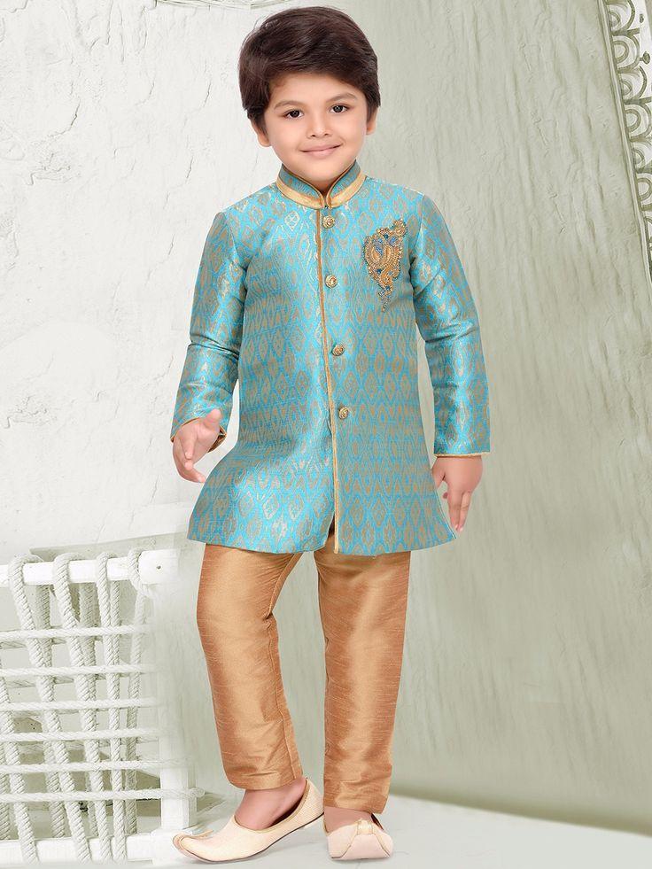 Sky Blue Silk Kurta Suit. ⚫️ View more collection at www.g3fashion.com ⚫️For price or detail do whatsApp +91-9913433322 #g3fashion #IndoWestern #boys #ethnicwear #kids #kidsethnicwear #indianestivals #diwali #festivewear #indianwear #indianwedding #instadaily #indianfashion #kidsfashion #online #shopping #kidswear #vibrant #india #indianmoms #diwali #boyfashion