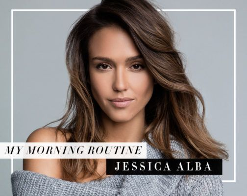 The brilliant way Jessica Alba motivates herself for morning workouts