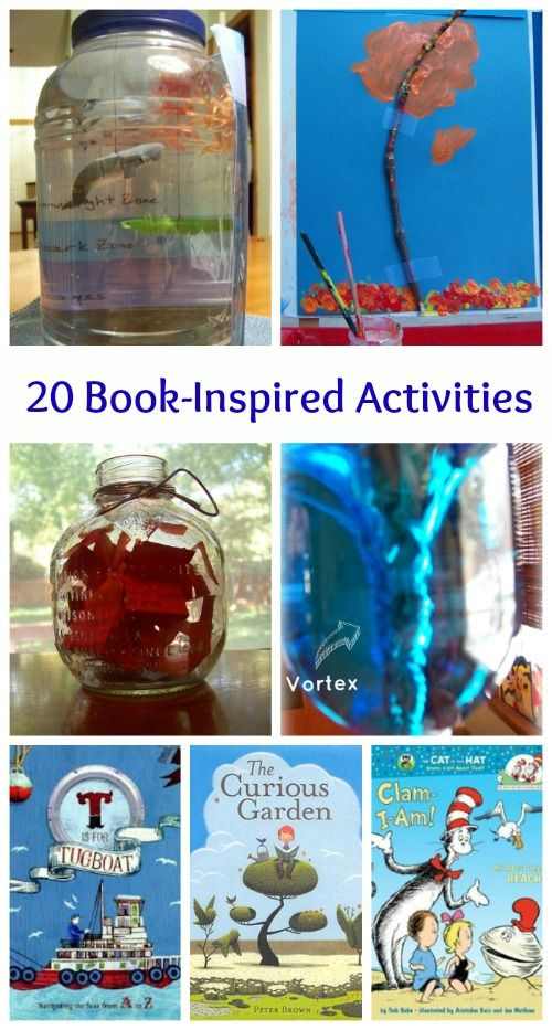 20 awesome diy cratfts activities connected to all types of great kids books - Kids Book Pictures