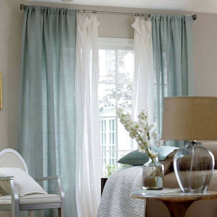 Best 25 layered curtains ideas on pinterest curtains curtain ideas and living room curtains - Curtains in bedroom ...