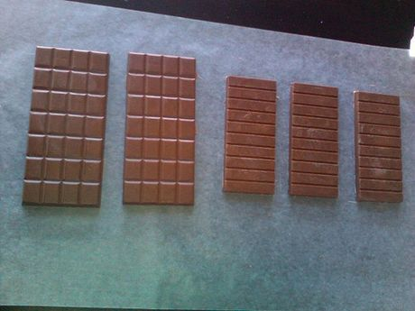 Image titled First milk chocolate bars