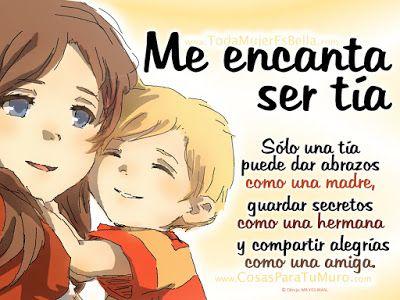 Frases Bonitas Para Facebook: Me Encanta Ser Tia                                                                                                                                                                                 Más