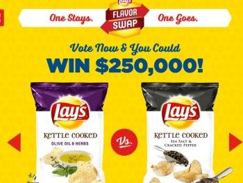 The LAY'S Flavor Swap Sweepstakes