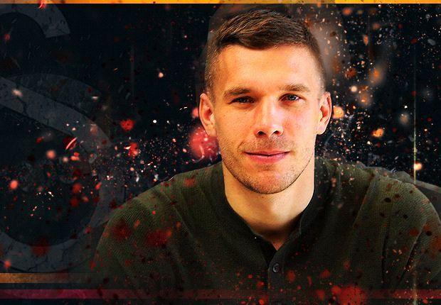 Podolski: Sneijder is an Arsenal-kind of player