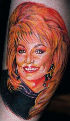 These Dolly Parton Tattoos Will Have You Working 9 to 5 Just to Get One #tattoos