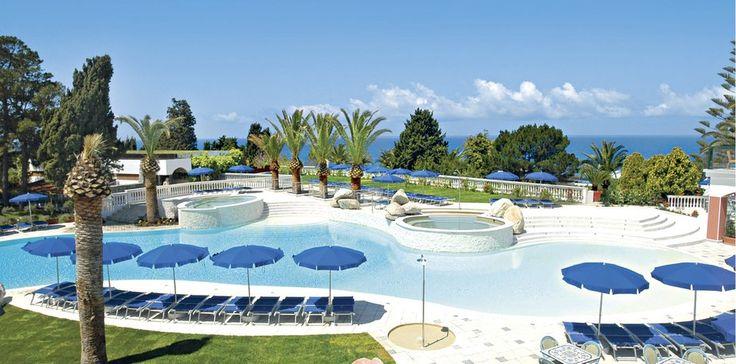 Italien Kalabrien Rocca Nettuno Tropea Pool