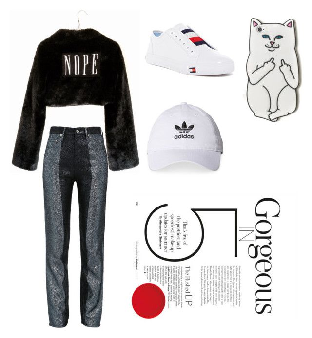 """Vol 008"" by firliourellonica on Polyvore featuring Wet Seal, Tommy Hilfiger, RIPNDIP and adidas"