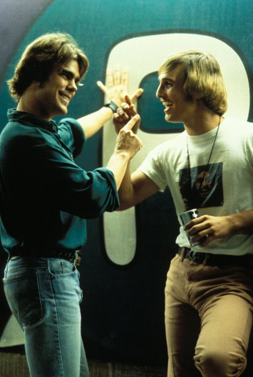 Matthew McConaughey as David Wooderson in Dazed and Confused