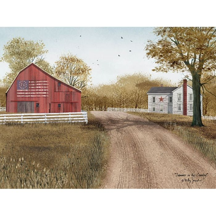 Summer in the Country - artwork by Penny Lane artist Billy Jacobs