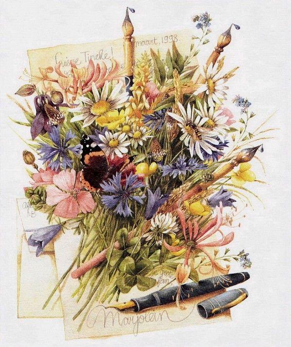Marjolein bastin art botanicals pinterest id es - Bastin de bois ...