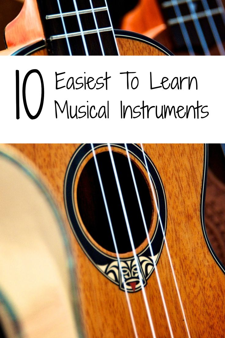Easiest To Learn Musical Instruments #guitar #music #musicalinstrument #instrument #ukelele #clarinet #triangle #kazoo #piano #harmonica #tambourine #whistle #trumpet