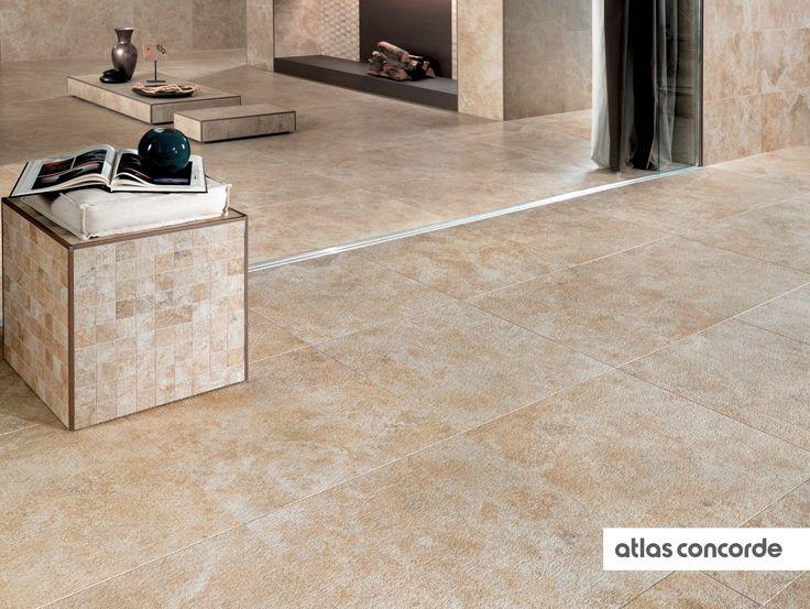 #SUNROCK rapolano | #Outdoor | #AtlasConcorde | #Tiles | #Ceramic | #PorcelainTiles