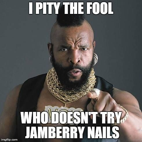 Try yours risk-free!Like my FB Fan page (facebook.com/djs-jams) and message me for a free mini-pedi kit! Contact me today to host your Facebook party and earn FREE and HALF-PRICE jamberry products! taramichele.jamberrynails.net