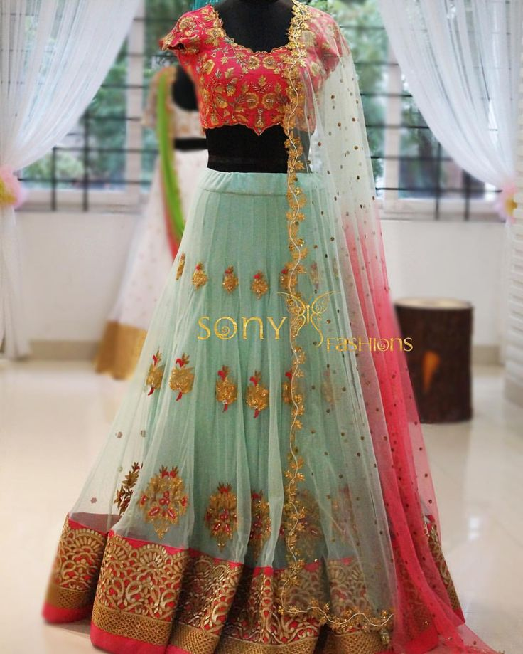 Beautiful Couture !!! With detailed work..  lehanga   sangeet  weddingdress  hyderabad  sonyfashions  sonyreddy   To place order mail us at  Sonyreddy24@gmail.com  Call or whts app @. 8008100885 18 June 2016