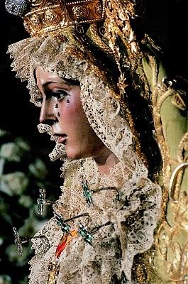 """Our Lady of Hope"" by Unknown Sculptor (c. 1650) Basilica de La Macarena, Seville"