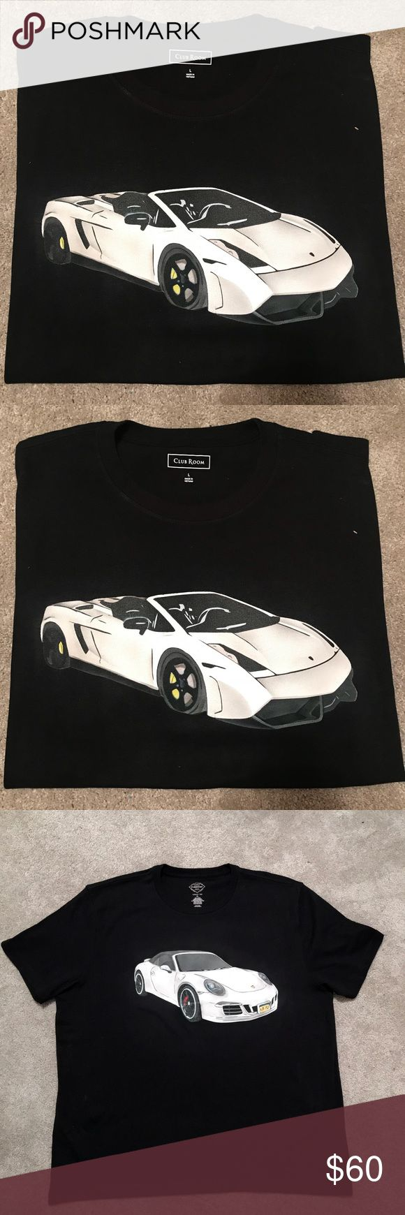 Custom Car T Shirts These shirts were made custom for clients using an airbrush gun. They look like screen print!  I have these and others for sale. You can also request your own design. Tops Tees - Short Sleeve