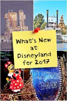 Exciting new things coming to Disneyland in 2017. Get ready now with this guide.