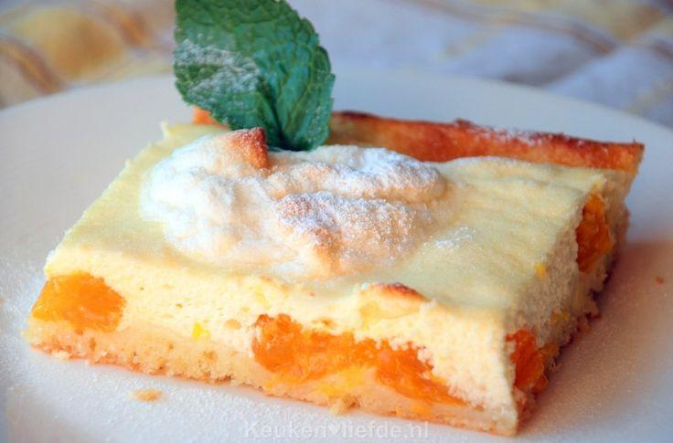 Kwarktaart met mandarijn en meringue - Keuken♥Liefde