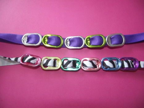 DIY Pop tab bracelet, cute for girls to make gifts for friends.