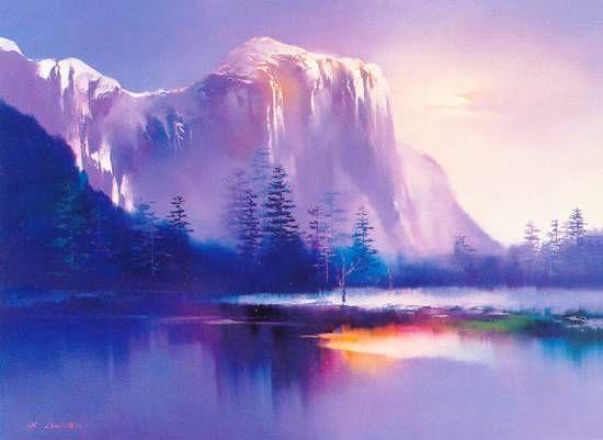 'Glacier Lake' by Hong Leung http://www.SeedingAbundance.com http://www.marjanb.myShaklee.com