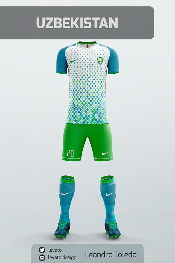 8e214bb02aa Asian Soccer Jerseys on Behance