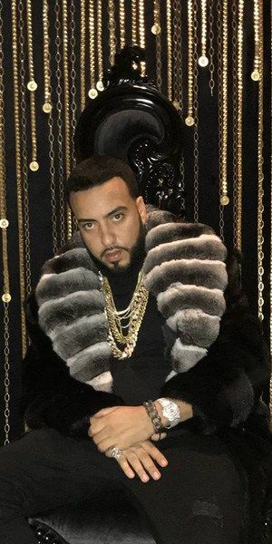 Celebrity Rapper French Montana is wearing a fabulous Marc Kaufman Furs Exclusive Blackglama Mink Men's Fur Stroller with a Cross Cut Designer Chinchilla Shawl Collar.…