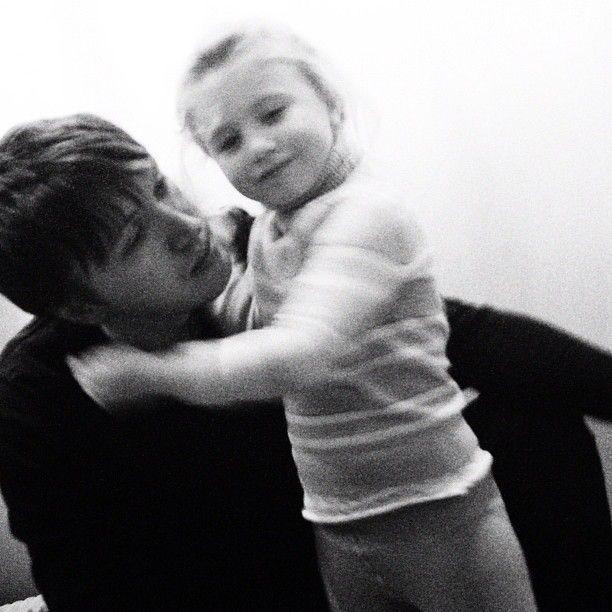 Dima with niece