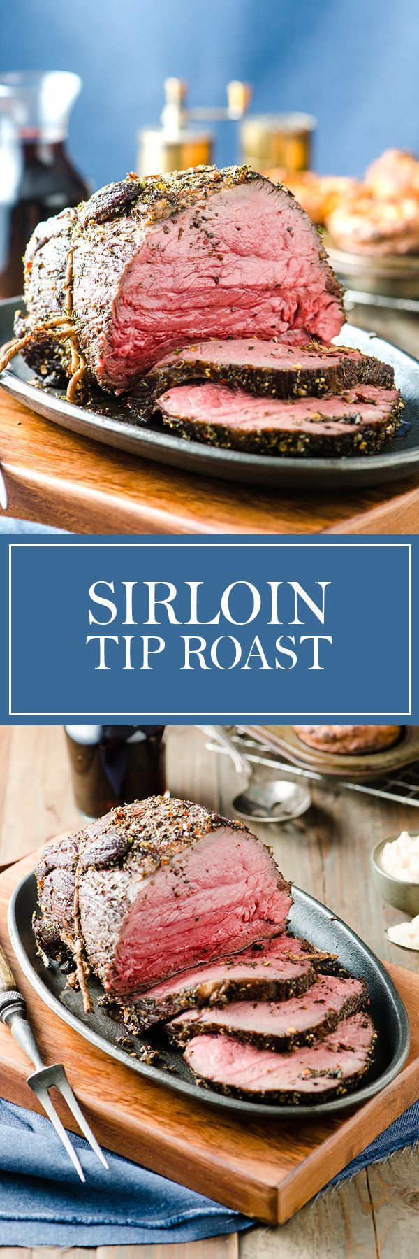 Sirloin Tip Roast - These simple spices and great cooking technique make for a perfect roast every time.