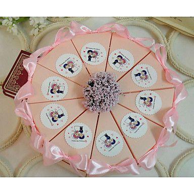 Geschenkboxen(Rosa,Kartonpapier) -Nicht personalisiert-Hochzeit / Jubliläum / Brautparty / Babyparty / Quinceañera & Der 16te Geburtstag 5244954 2017 – €7.83