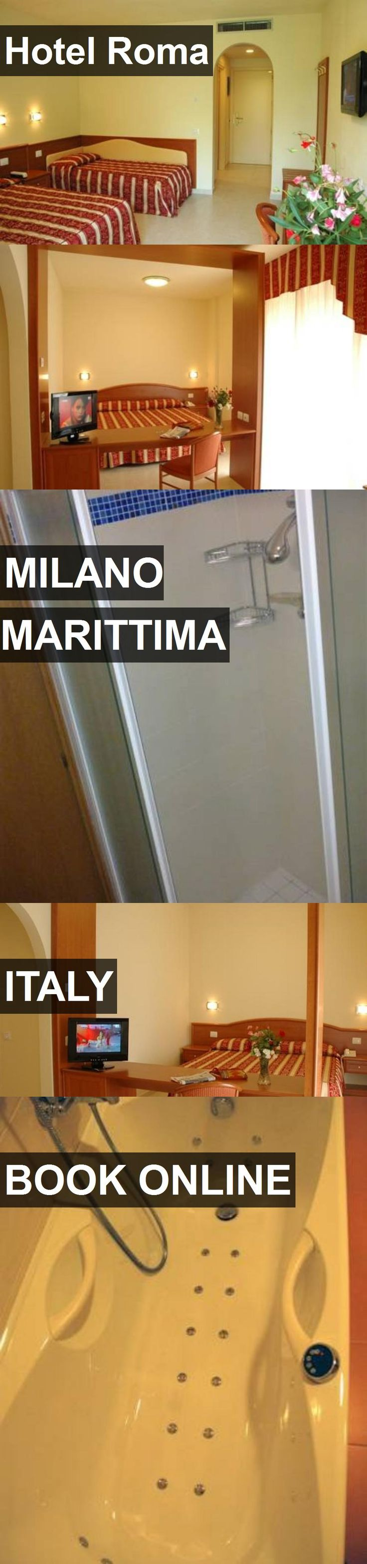 Hotel Roma in Milano Marittima, Italy. For more information, photos, reviews and best prices please follow the link. #Italy #MilanoMarittima #travel #vacation #hotel