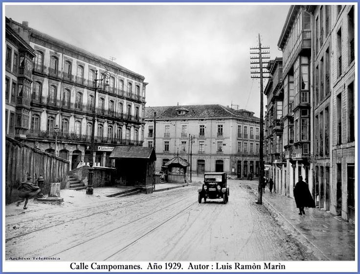 Calle Campomanes.1929