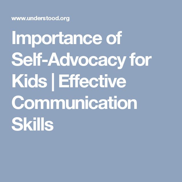 effective communication with children The importance of children developing good communication skills the importance of children developing good communication to communicate effectively is a.