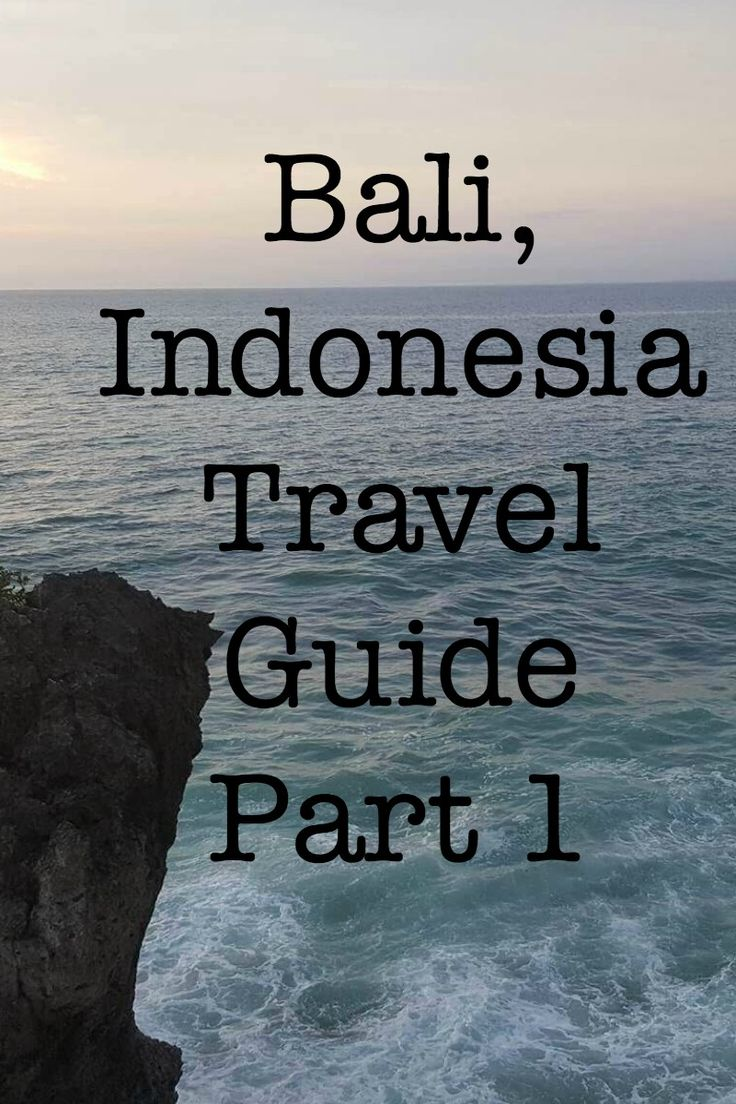 Bali, Indonesia Travel Guide Part 1. In this guide you will read about where the best places are to eat, what activities to do, where to stay, transportation options and more! http://borntobealive.blog/welcome/bali-indonesia-travel-guide-part-1/