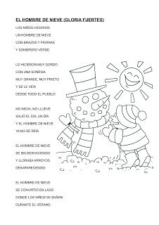 LA CLASE DE LUNA: EL HOMBRE DE NIEVE---GLORIA FUERTES