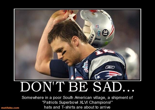 The New England Patriots lose it! | SPORTS DEMOTIVATION |Funny Demotivational Posters Super Bowl Halftime