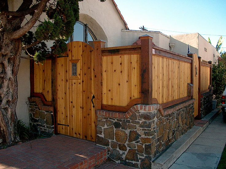 stone and wood fences - Google Search | FENCE IDEAS ...  |Stone And Wood Fence