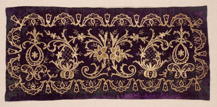 antique ottoman turkish embroidered pillow cover (yastik) • silk velvet Ottoman Yastik Face Turkey.  Mid to late 19th century
