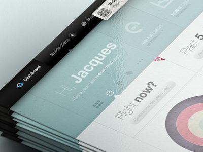 Pastel Dashboard  by Jakob Halifax