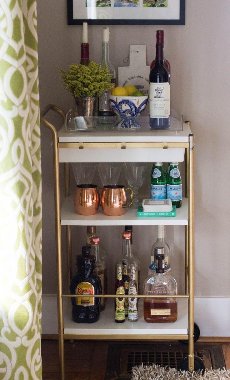 1000 ideas about ikea bar cart on pinterest ikea bar for Ikea mobile bar