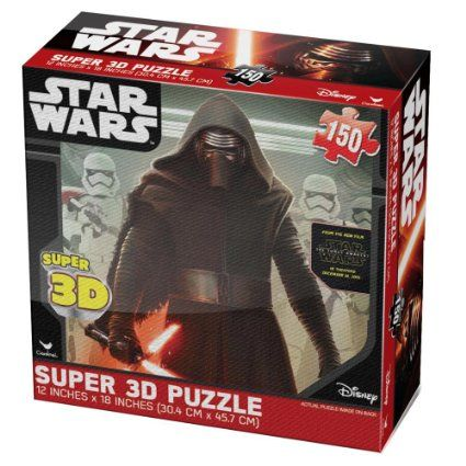 12 40 Star Wars Episode Vii Super 3d Puzzle By Cardinal