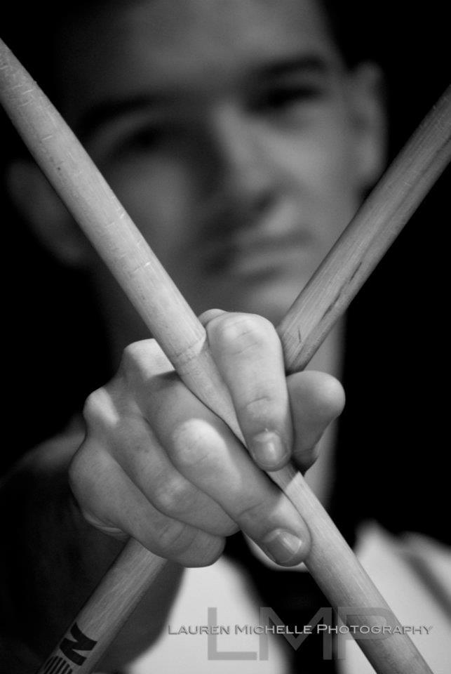 Senior Portrait / Photo / Picture Idea - Musician - Band - Drummer