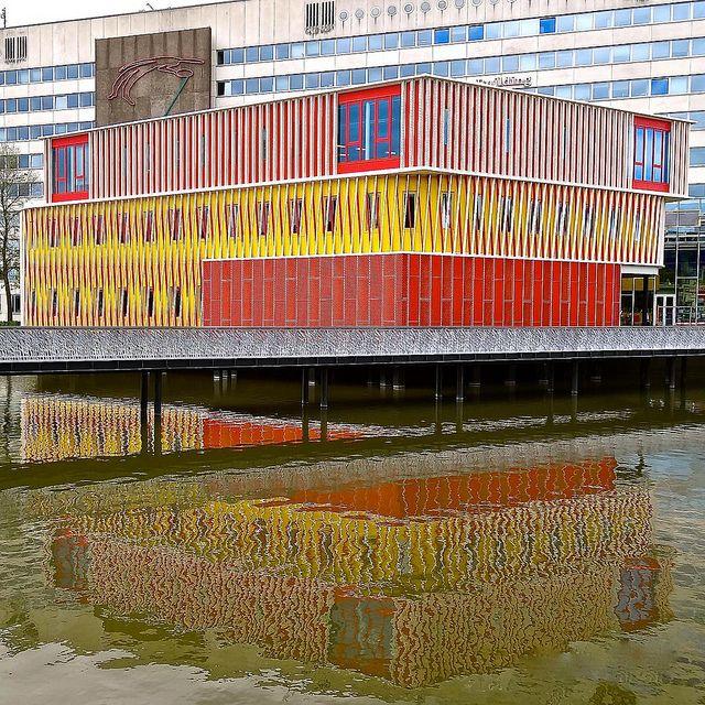 Duisenberg Pavilion at the University of Groningen, designed by pvanb architecten (2010)