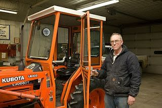Great DIY article about homemade tractor Cab.