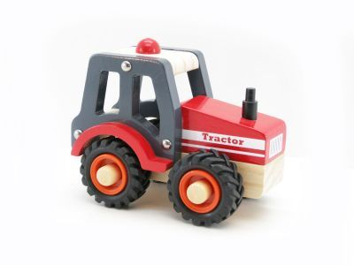 Wooden Tractor improve your little ones motor neuron skills and imagination.  This wooden Tractor is very well made and the perfect size for your little ones' hands  A lovely wooden toy which will spark the imagination of any little Farmer. - See more at: http://www.lightyearimports.com.au/product_detail/childrens-toys/Boys/wooden-toy-tractor.aspx#sthash.Kta3z9YH.dpuf