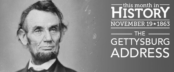 """Delivered on November 19, 1863, by President Abraham Lincoln,the Gettysburg Address, with its famous opening lines of """"Four score and seven years ago,"""" is one of the best-known speeche…"""