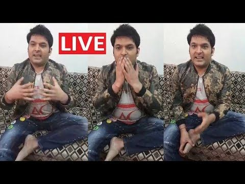 Kapil Sharma LIVE Requesting His Fans to Watch Family Time With
